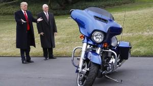 Harley-Davidson trotzt Trump