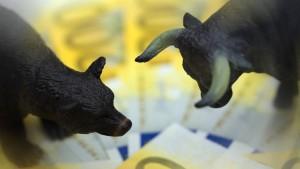 Voller Optimismus für die Aktienmärkte