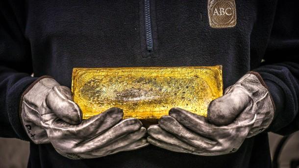 Goldbarren sind wieder gefragt