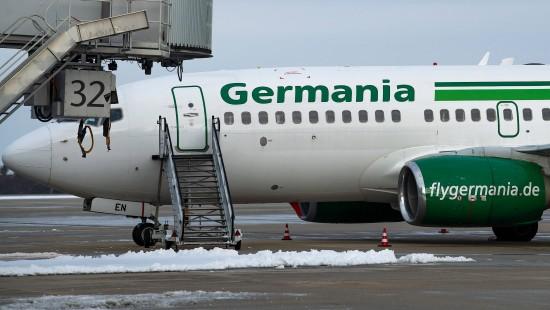 Germania-Kunden dürften leer ausgehen