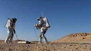 Der Rote Planet liegt im Oman