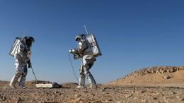 Simulierter Mars-Aufenthalt im Oman