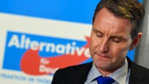 AfD-Bundesvorstand beantragt Björn Höckes Parteiausschluss