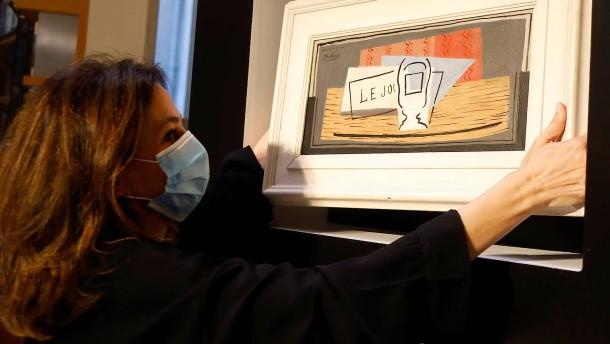 Picasso Gemälde bei Tombola verlost
