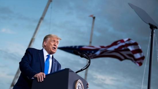 Trump wird am Sarg von Bader Ginsburg ausgebuht