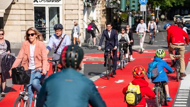 Rot bringt Ordnung in den Verkehr