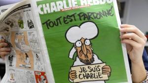 Türkische Journalisten verurteilt wegen Charlie-Hebdo-Karikatur