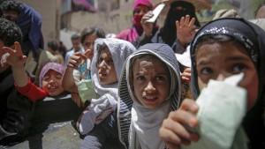 UN warnen vor Millionen Hungertoten im Jemen