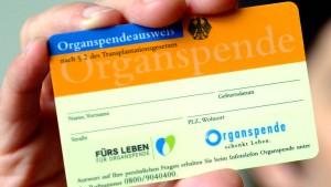 Regierung verabschiedet Gesetzentwurf zur Organspende