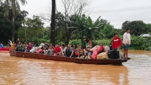 26 Tote und Hunderte Vermisste nach Dammbruch in Laos