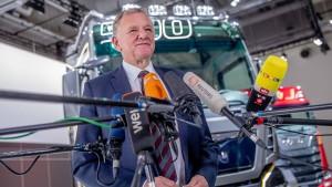 Volkswagen schätzt den Wert von Traton auf 16,5 Milliarden Euro