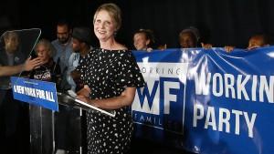 Cynthia Nixon scheitert in Vorwahl um Gouverneursposten