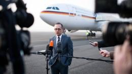 Außenminister Maas fordert neuen Umgang mit Amerika