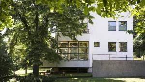 Bauhaus mit Glimmer