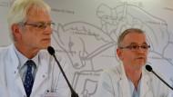 Ärzte sehen Zustand des Ebola-Patienten kritisch
