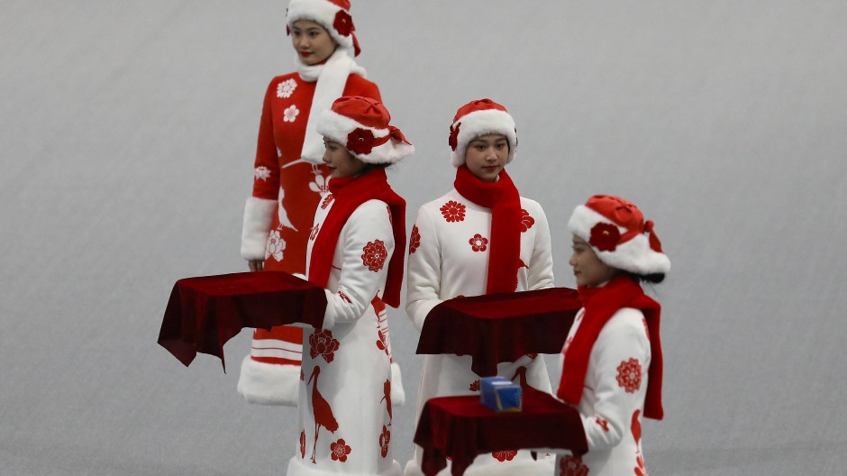 Ein Test-Event im April dieses Jahres zur Vorbereitung auf die Olympischen Winterspielen 2022 in Peking