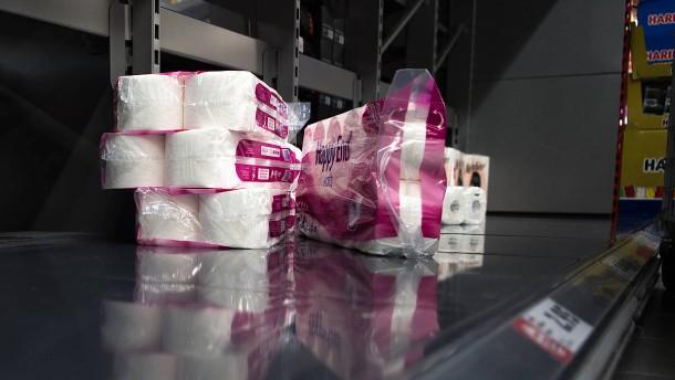 Deutsche kaufen deutlich mehr Toilettenpapier