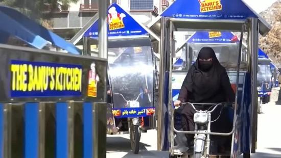Kabuls Snack-Verkäuferinnen