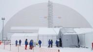 Die neue Schutzhülle für die Atomruine Tschernobyl