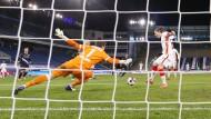 Hoffen auf Treffer, wie gegen Bielefeld: RB Leipzig trifft auf die Bayern.