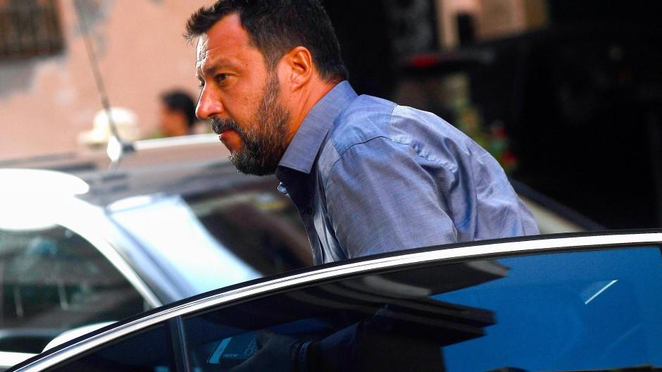Auslöser der Regierungskrise: Italiens Innenminister Matteo Salvini
