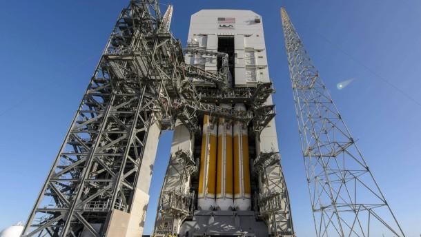 """Starker Wind verhindert Start der """"Orion"""""""