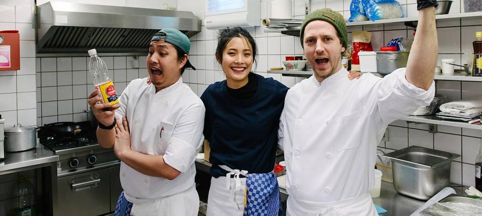 Berliner Kin Dee Serviert Moderne Thai Kuche