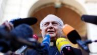 """Erzbischof Zollitsch in Rom: """"Alle Seiten an einer guten und baldigen Lösung interessiert"""""""