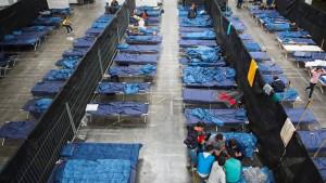 Hohe Flüchtlingszahlen sind wie kleines Konjunkturprogramm