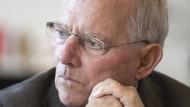 Herr Schäuble erzählt vom Aufstieg