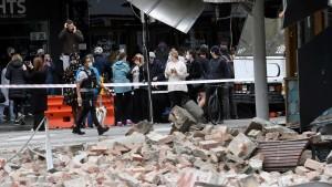 Erdbeben löst Panik in Melbourne aus