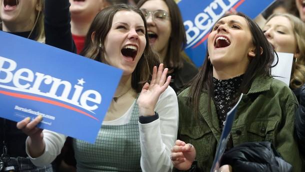 Warum die Jungen so auf Bernie Sanders stehen