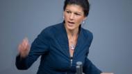 Wagenknecht wirbt für rot-rot-grünen Kandidaten