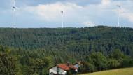 """""""Den Odenwald retten"""": Betroffene stellen sich gegen den Ausbau von Windkraftanlagen"""