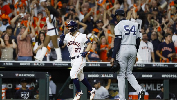 Houston folgt Washington ins Baseball-Finale