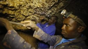 Goldrausch in Südafrika