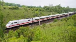 Bahnreisende sind bald wieder schneller am Ziel