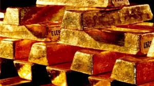 Griff nach unserem Gold
