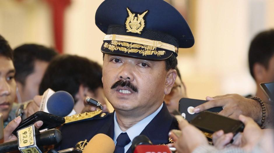 Hadi Tjahjanto, Kommandeur der indonesischen Streitkräfte, spricht mit Medienvertretern. (Archivbild)