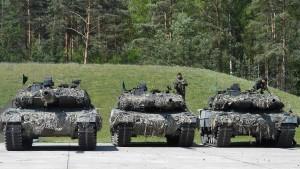 Saudi-Arabien will offenbar keine deutschen Panzer mehr