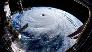 So sieht ein Supertaifun aus dem Weltall aus
