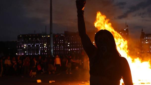 Heftige Proteste in Mexiko