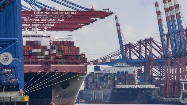Mehr als 12 Prozent Exportrückgang