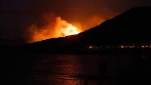 Waldbrand wütet in Katalonien