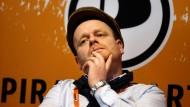 Reflexionsbedarf in Sachen Urheberrecht: Bernd Schlömer, der Vorsitzende der Piratenpartei