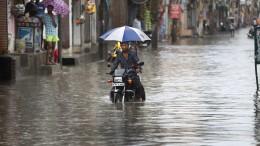 Mindestens 115 Tote durch Erdrutsche und Überschwemmungen in Indien