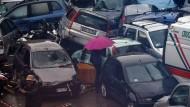 Schwere Unwetter in Italien