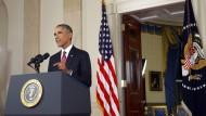 Obama weitet Kampf gegen den IS auf Syrien aus