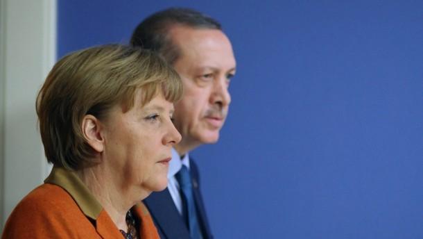 Angela Merkel, Recep Tayyip Erdogan