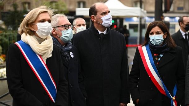 Paris gedenkt der Opfer von 2015